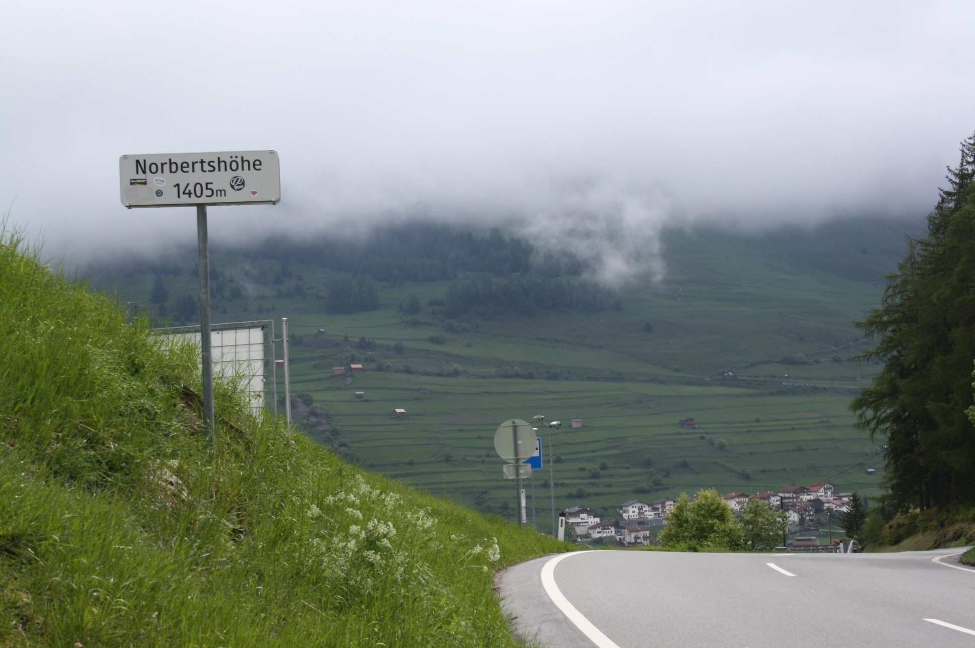Passhöhe der Norbertshöhe
